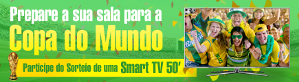 Sorteio Smart TV Copa do Mundo