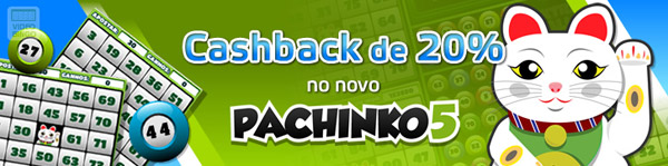 Cashback Pachinko 5 Betmotion