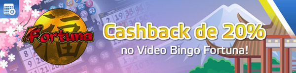 Cashback video bingo fortuna